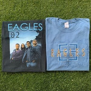 🎧VTG Eagles 2002 Concert Tee Lot